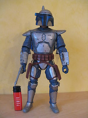Rare Vintage Star Wars Jango  Fett  Figure With Sound & Light Effects33 Cm