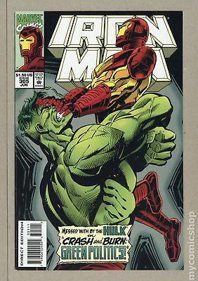 Iron Man (1968 1st Series) #305 VF- 7.5