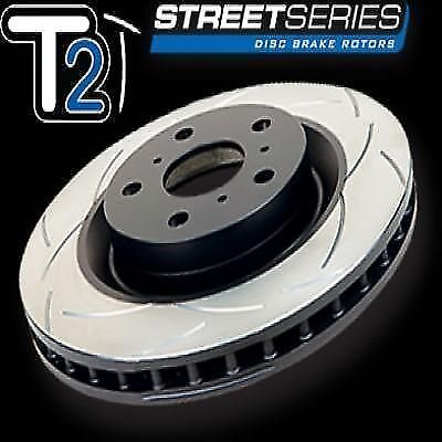 2x DBA T2 Front Slotted Rotors FIT Holden Commodore VT VU VX VY VZ 296mm DBA040S