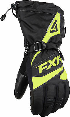 FXR Fuel Snow Gloves Black/Hi-Vis