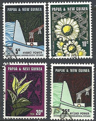 Papua New Guinea 1967 INDUSTRIES Set(4) Fine Used SG 113-6