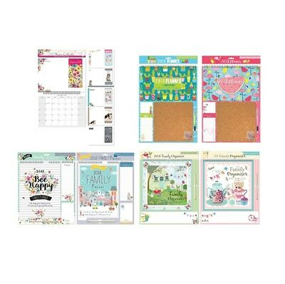 2018 MEMO / FAMILY ORGANISER - Month to View {Tallon} (Photographic/Planner/Pen)