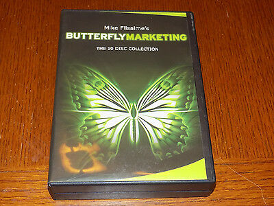 Mike Filsaime's Butterfly Marketing The 10 Disc Collection Very Good Condition