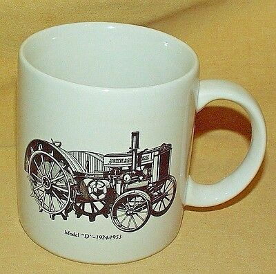 John Deere Tractor D Model 1924 1953 Go Green Service Coffee Mug Tea Cup Korea