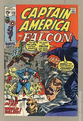 Captain America (1968 1st Series) #136 FN 6.0