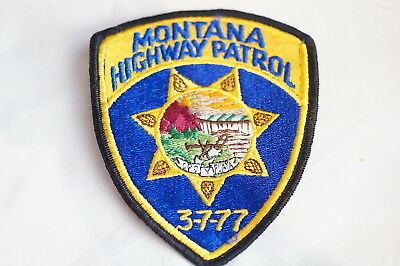 US Highway Patrol Montana Police Patch 2