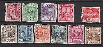 1929 Spanish Andorra. Landscapes Set*. Very Scarce. 490 €