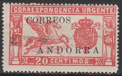 1928 Spanish Andorra. Pegasus (Express Delivery) Mlh. Scarce. 105 €