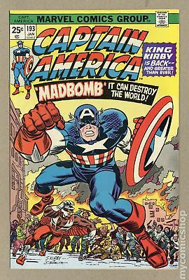 Captain America (1968 1st Series) #193 VG/FN 5.0