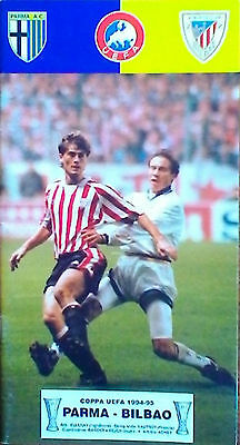 Programme PARMA Italy - ATHLETIC BILBAO Spain 1994/1995 UEFA CUP