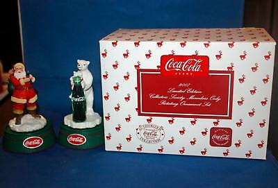 2007 Coca Cola Ltd Rotating Ornament Set - Society Members Only - CCLESET