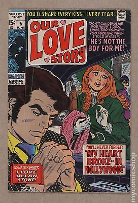 Our Love Story (1969) #5 GD/VG 3.0