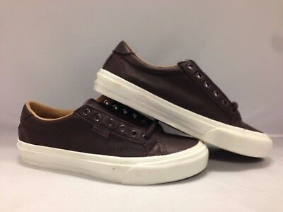 aa5a23662c6c15 VANS COURT DX (Leather) Iron Brown Blanc de Blanc Skate MEN S 8 ...