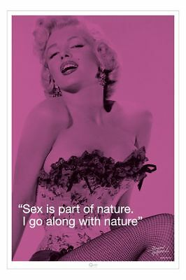 Poster MARILYN MONROE - I. Quote - Sex Is Part... 57101