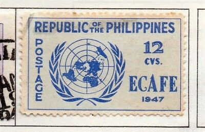 Philippines 1947-49 Early Issue Fine Used 12c. 173001