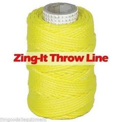 Zing-It Throw Line by Samson 1.75mm x 180', Samthane Coating 400 lb. Strength