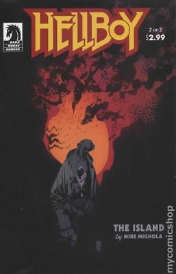 Hellboy The Island (2005) #2 VF