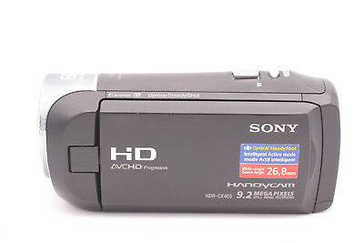Sony Hdr-Cx405 Handycam - 9.2 Megapixels - 60X Clear Image Zoom - 1080 Recording