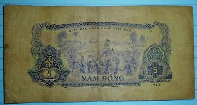B.158 - VIET CONG - BANK NOTE - US HELICOPTERS CAPTURED - 1966 POWS, Vietnam War