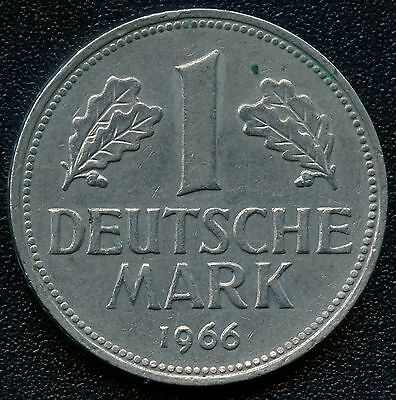 Germany 1966 'J' 1 Mark Coin