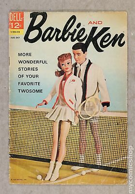Barbie and Ken (1962) #4 GD- 1.8