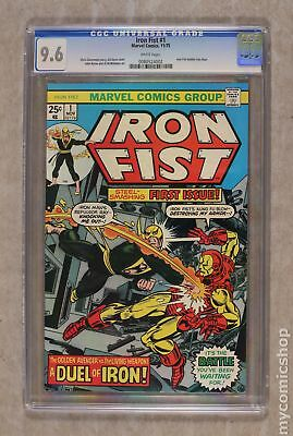 Iron Fist (1975 1st Series) #1 CGC 9.6 0080524002