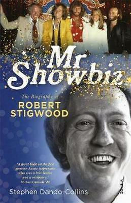 NEW Mr Showbiz By Stephen Dando-Collins Paperback Free Shipping