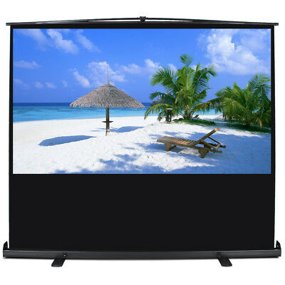 """Projection Home Entertainment HD Movie Theater 80"""" 16:9 Ratio Manual Pull Up"""