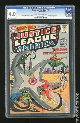 Brave and the Bold (1955 1st Series DC) #28 CGC 4.0 0070497002