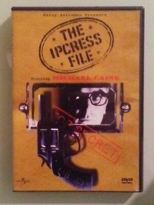 michael caine  THE IPCRESS FILE   DVD genuine region 1 includes insert