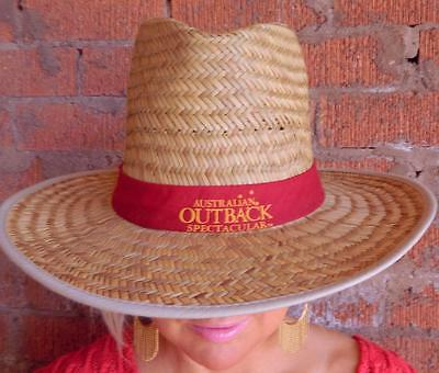 VINTAGE Australian Outback Spectacular Presented By R..M. Williams Cowboy Hat