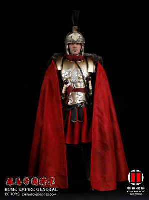 NEW Warriors KNIGHT Rome Imperial General Mezco 1/6 Figure in stock
