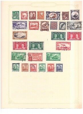 New Zealand unchecked range from old collection (2)