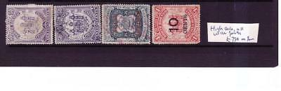 North Borneo used high values, faults, cat £750 as fine