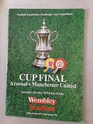 ARSENAL v MANCHESTER UNITED ( FAC Final ) 1979.