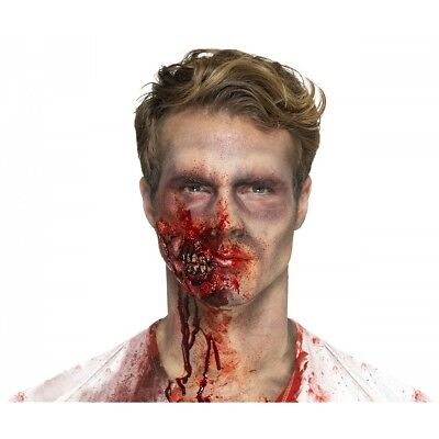 Zombie Jaw Prosthetic Costume Appliance Adult Halloween