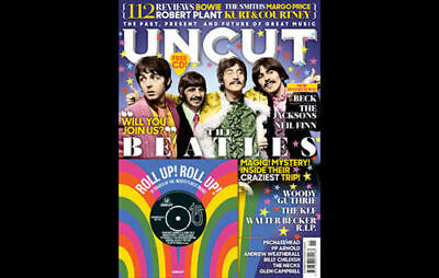 Uncut Magazine + Cd November 2017 (Beatles, Beck, Walter Becker, Jacksons) New