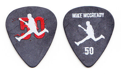 Pearl Jam Mike McCready 50th Birthday Party Concert Guitar Pick - 2016 Tour