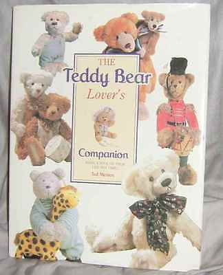 "The Teddy Bear Lover's Companion"" By Ted Menton, Harf Cover Book (#x-930)"