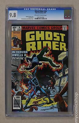 Ghost Rider (1973 1st Series) #36 CGC 9.8 0931453006