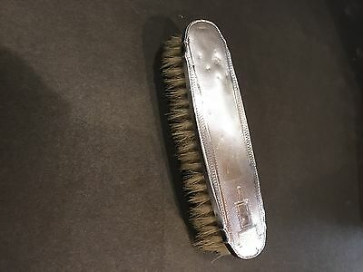 1935 British Hallmark Silver Hair Brush Inherited Item