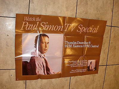 Paul Simon Tv Special Promo Poster For Greatest Hits Album