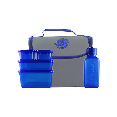 New Wave Litter Free Lunch Box 4 Colors Travel Cooler NEW
