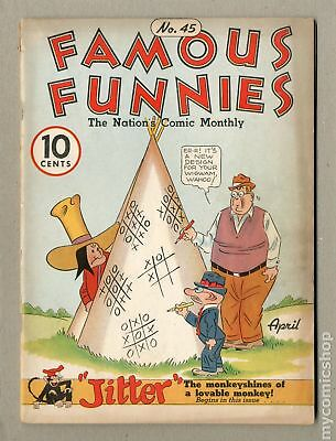 Famous Funnies (1934) #45 VG- 3.5