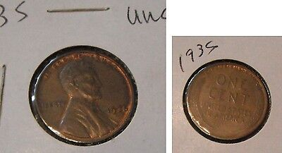 Lincoln Cents--20 different--C....1935--1958...BU grade