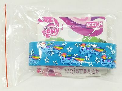 My Little Pony Rainbow Dash Cutie Mark MLP Rubber Bracelet Wristband #ssep17-135