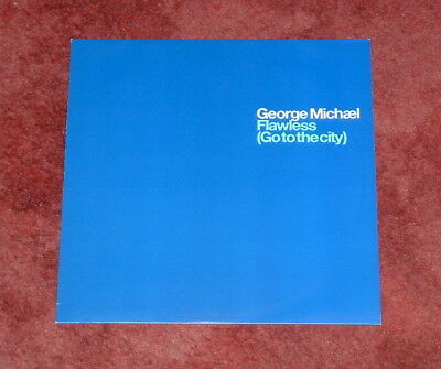 """GEORGE MICHAEL Flawless (Go to The City) Special Remixes PROMO 12"""" Mint"""
