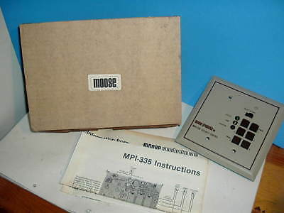 Mpi-335 Security Control Security Keypad Moose Products Inc.