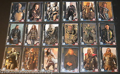 Topps HERO ATTAX Marvel Cinematic Universe Cards Game - Thor The Dark World