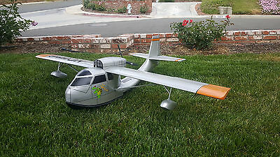 1/7 Scale Republic RC-3 SeaBee Amphibian Seaplane Plans,Templates, Instruct 63ws